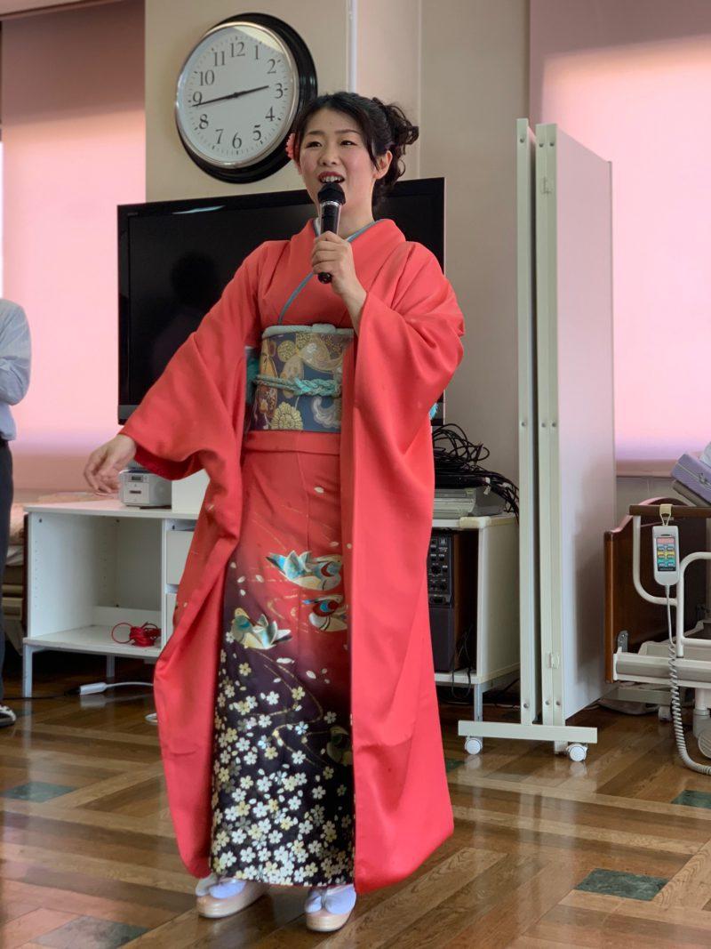 中村悦世様による歌謡ショー1